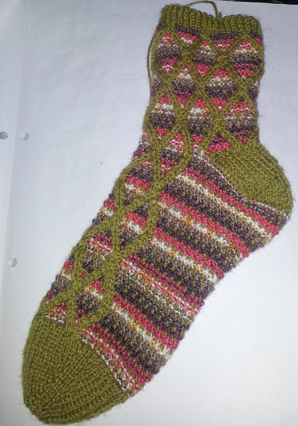 Work in Progress Wednesday Sock