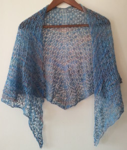 Half Hour to Spring Shawl